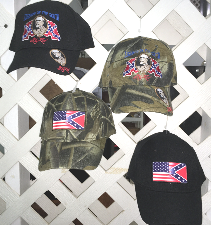 f6f956b4c1f03 New Hot Selling Caps ! 2 Styles Gen. Lee   USA CONFEDERATE FLAG Blend. Both  In the most popular colors--Black and Camo  2.95 each 12 or more.